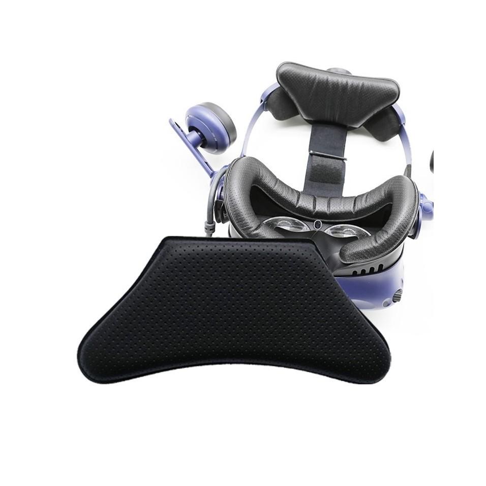 Faux Leather VR Cover HTC Vive Pro Foam Pad Head