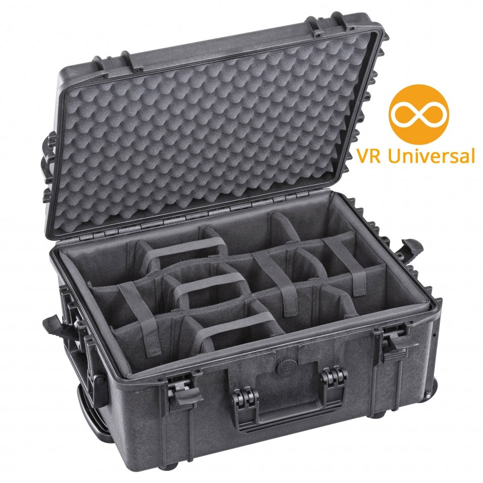 Universal VR Suitcase with Modular Compartments - GOVR (M)