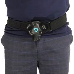 Befestigen Sie den HTC Tracker am Gürtel