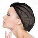 Charlotte Jetable Noir : Protection Tête-Cheveux (Médical, Industrie, Agro-Alimentaire, Beauté, Vélos, Réalité Virtuelle)