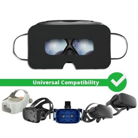 VR hygiene Einweg Maske VR-Brille, Schwarz, Universal - SuperMask