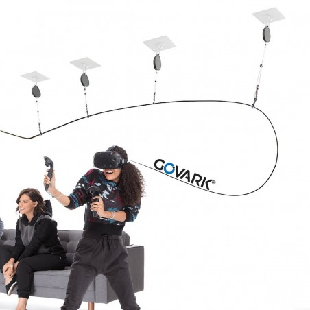 Versenkbare VR-Helme mit Kabelbindersystem