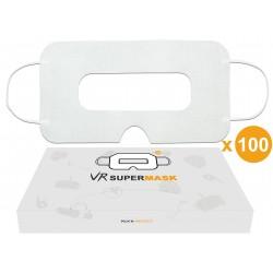 [Bündel von 100] VR hygiene Einweg Maske für VR-Brille, Universal - SuperMask