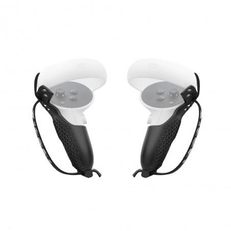 Coque de Protection Grip Cover pour manettes Oculus Quest 2 (Noir)