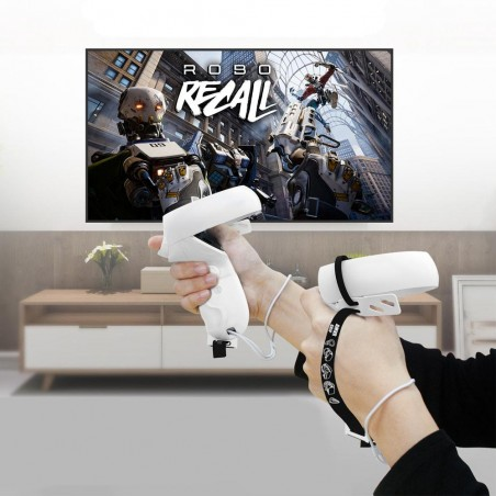 Play Oculus Quest 2 without losing your controllers!