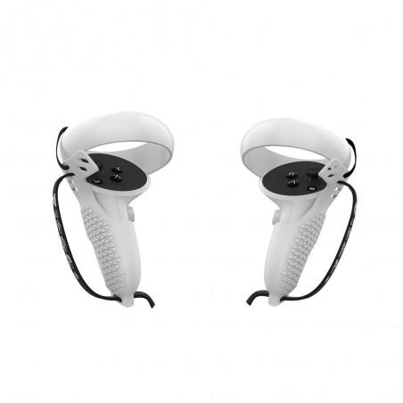 Coque de Protection Grip Cover pour manettes Oculus Quest 2 (Blanc)
