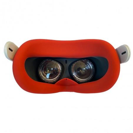nettoyer votre casque facilement avec un insert silicone rouge