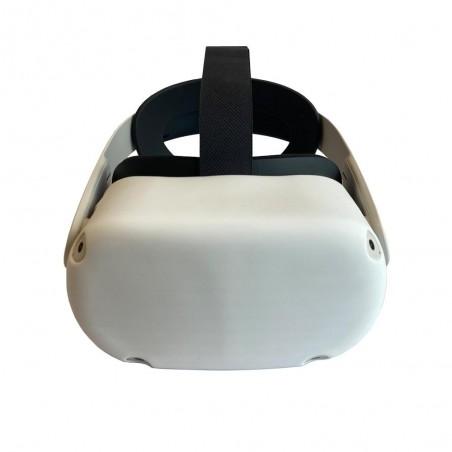 Housse en silicone pour casque (blanc)