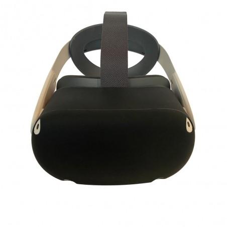 Housse en silicone pour casque (noir)