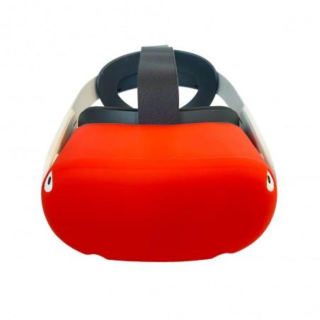 Housse en silicone pour casque (rouge)
