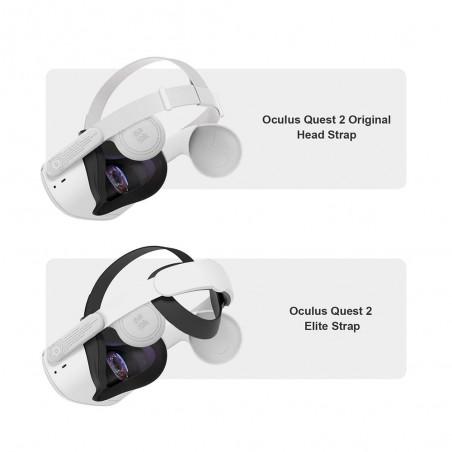 Compatibilité : Oculus Quest 2 & Elite Strap