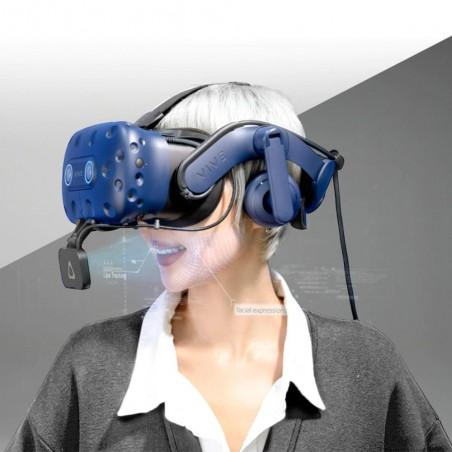 Associez-le à VIVE Pro Eye pour une expérience de tracking du visage complet