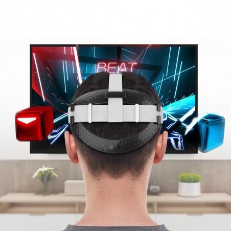 Améliorer la confort de la sangle d'origine du Casque VR Quest 2 (noir)