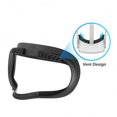 Nouvelle interface faciale avec ventilation