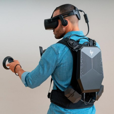 HP Reverb G2 with the powerful VR Backpack