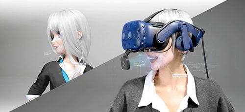 Vive pro équipé du Facial Tracker