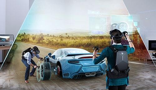 Fidélité visuelle en réalité virtuelle